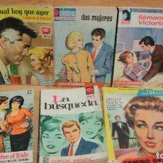 Libros de segunda mano: 6 NOVELAS ROMANTICAS. Lote 87198488