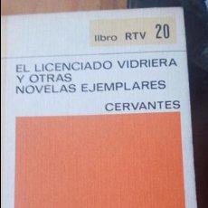 Libros de segunda mano: EL LICENCIADO VIDRIERA Y OTRAS NOVELAS EJEMPLARES DE CERVANTES - EDITORIAL SALVAT. Lote 88227380