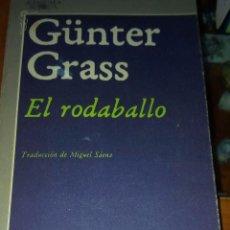 Libros de segunda mano: EL RODABALLO DE GUNTER GARSS - EDICIONES ALFAGUARA. Lote 88371792