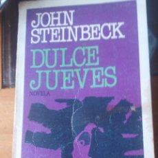 Libros de segunda mano: DULCE JUEVES DE JOHN STEINBECK - PLAZA & JANES EDICIONES. Lote 89105800
