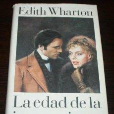 Libros de segunda mano: EDITH WHARTON - LA EDAD DE LA INOCENCIA - CÍRCULO DE LECTORES - 1995. Lote 89620944