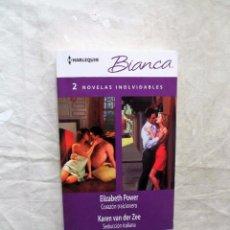 Libros de segunda mano: NOVELA ROMANTICA - 2 NOVELAS INOLVIDABLES DE DISTINTOS AUTORES. Lote 90645845