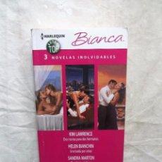 Libros de segunda mano: NOVELA ROMANTICA - 3 NOVELAS INOLVIDABLES DE DISTINTOS AUTORES . Lote 90648735