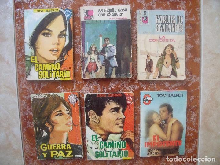 NOVELAS.-LOTE DE 6 NOVELAS. (Libros de Segunda Mano (posteriores a 1936) - Literatura - Narrativa - Novela Romántica)