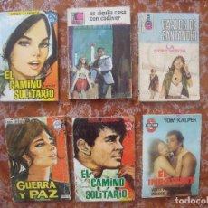 Libros de segunda mano: NOVELAS.-LOTE DE 6 NOVELAS.. Lote 112443824