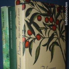 Libros de segunda mano: LOTE 3 LIBROS JOHANNA LINDSAY. Lote 96263395
