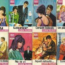 Libros de segunda mano: NOVELAS DE CORÍN TELLADO + OTROS AUTORES. MINI LIBROS BRUGUERA (AÑOS 60-70). 2 X 5 €. Lote 173803748