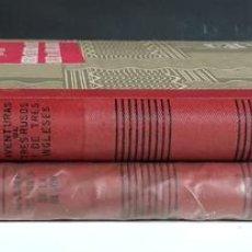 Libros de segunda mano: JULIO VERNE. 2 EJEMPLARES. EDITORIAL RAMÓN SOPENA. 1954.. Lote 100145919