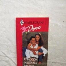 Libros de segunda mano - NOVELA ROMANTICA - HARLEQUIN DESEO - ATRACCION INMEDIATA DE JACKIE MERRITT - 100225355