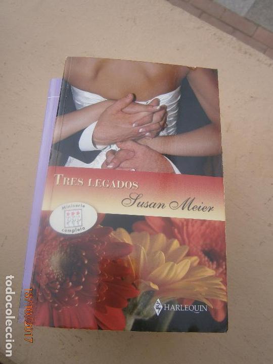 LIBRO TRES LEGADOS SUSAN MEIER 2008 HARLEQUIN L-16426 (Libros de Segunda Mano (posteriores a 1936) - Literatura - Narrativa - Novela Romántica)