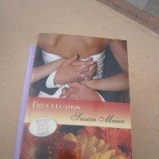 Libros de segunda mano: LIBRO TRES LEGADOS SUSAN MEIER 2008 HARLEQUIN L-16426. Lote 100704103