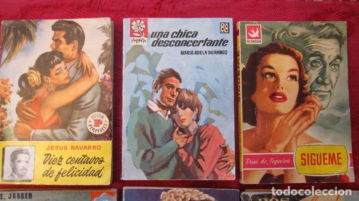 Libros de segunda mano: GRAN LOTE DE NOVELAS ROMANTICAS DE BRUGUERA Y OTRAS. AÑOS 50 - Foto 2 - 101924567