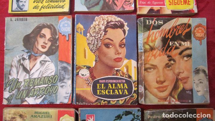 Libros de segunda mano: GRAN LOTE DE NOVELAS ROMANTICAS DE BRUGUERA Y OTRAS. AÑOS 50 - Foto 3 - 101924567