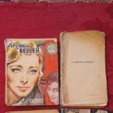 Libros de segunda mano: GRAN LOTE DE 4 NOVELAS ROMANTICAS DE BRUGUERA Y OTRAS. AÑOS 50. Lote 101924895