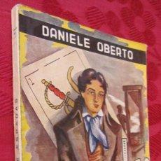 Libros de segunda mano: ESCELIER: AS DE ESPADAS. DANIEL OBERTO.1947. MUY BUEN ESTADO PARA LOS AÑOS QUE TIENE. Lote 101925287
