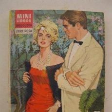 Libros de segunda mano: MINI LIBROS BRUGUERA - SERIE ROSA - Nº 145 - ¡PORQUE NO ERES COMO TODOS! - CORIN TELLADO - AÑO 1966. Lote 102952919