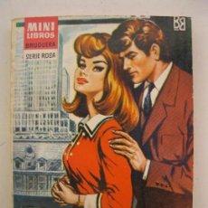 Libros de segunda mano: MINI LIBROS BRUGUERA - SERIE ROSA - Nº 144 - SECRETARIA PRIVADA - CARLOS DE SANTANDER - AÑO 1965.. Lote 102954247
