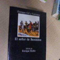 Libros de segunda mano: GIL Y CARRASCO / SEÑOR DE BEMBIBRE - CABALLERIA EDAD MEDIA ROMANTICISMO - 1986 - 1ª EDIC - IMPECABLE. Lote 103171427