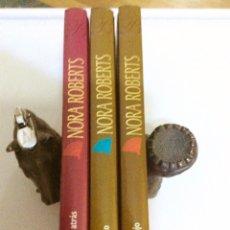 Libros de segunda mano: LOTE DE TRES LIBROS, NORA ROBERTS. HARLEQUIN IBÉRICA,S.A. Lote 104828042