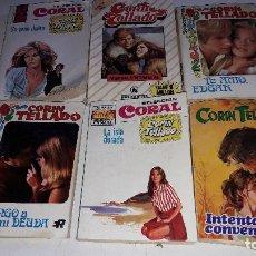 Libros de segunda mano: 6 NOVELAS ROMANTICAS....DE CORIN TELLADO.. Lote 107082571