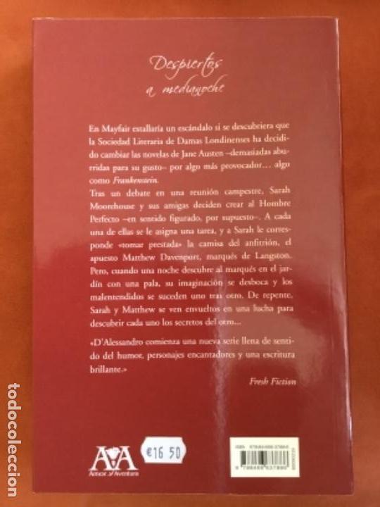 Libros de segunda mano: JACQUIE D'ALESSANDRO - DESPIERTOS A MEDIANOCHE (EDITORIAL VERGARA) - Foto 2 - 108373267