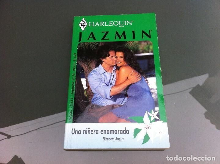 HARLEQUIN. JAZMIN (ELIZABETH AUGUST, UNA NIÑERA ENAMORADA) (Libros de Segunda Mano (posteriores a 1936) - Literatura - Narrativa - Novela Romántica)