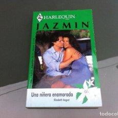 Libros de segunda mano: HARLEQUIN. JAZMIN (ELIZABETH AUGUST, UNA NIÑERA ENAMORADA). Lote 109010759