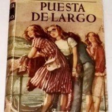 Libros de segunda mano: PUESTA DE LARGO; FELIPE ERMITA - EDITORIAL JUVENTUD, 1ª EDICIÓN 1947-DEDICADO Y FIRMADO POR EL AUTOR. Lote 109027387