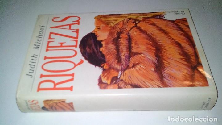 RIQUEZAS-JUDITH MICHAEL. CÍRCULO DE LECTORES 1990-TAPAS DURAS + CUBIERTA (Libros de Segunda Mano (posteriores a 1936) - Literatura - Narrativa - Novela Romántica)