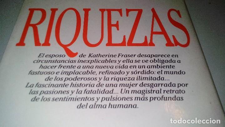 Libros de segunda mano: RIQUEZAS-JUDITH MICHAEL. CÍRCULO DE LECTORES 1990-TAPAS DURAS + CUBIERTA - Foto 3 - 117643168