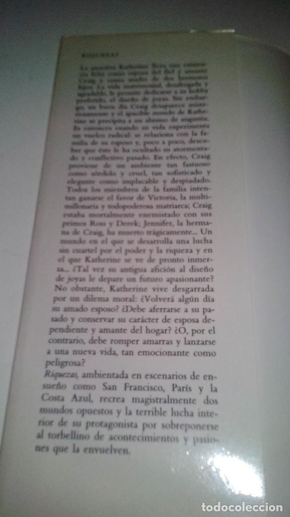 Libros de segunda mano: RIQUEZAS-JUDITH MICHAEL. CÍRCULO DE LECTORES 1990-TAPAS DURAS + CUBIERTA - Foto 5 - 117643168