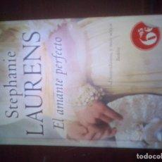 Libros de segunda mano: EL AMANTE PERFECTO (AMOR Y AVENTURA) - LAURENS, STEPHANIE. Lote 112209075