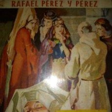 Libros de segunda mano: AZUCENAS EN CASTILLA. RAFAEL PÉREZ Y PÉREZ. PRIMERA EDICIÓN SEPTIEMBRE 1946. EDITORIAL JUVENTUD. RÚS. Lote 113273788