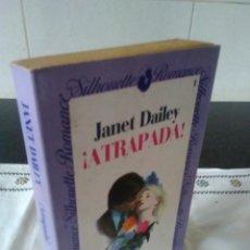 Libros de segunda mano: 21-ATRAPADA, JANET DAILEY, 1983. Lote 114786647