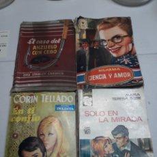 Libros de segunda mano: NOVELAS LOTE 4 DISTINTAS. Lote 115383291