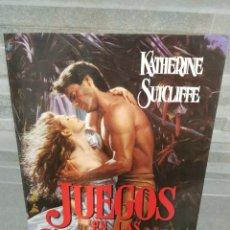 Libros de segunda mano: JUEGOS EN LAS SOMBRAS DE KATHERINE SUTCLIFFE. Lote 116123020