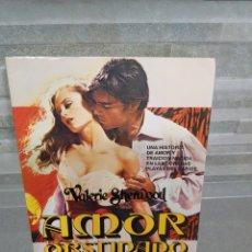 Libros de segunda mano: AMOR OBSTINADO DE VALERIE SHERWOOD. Lote 116123802