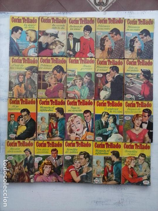 CORIN TELLADO COLECCIÓN CORAL - 20 NºS - 8,11,13,15,16,17,29,31,34,43,45,50,57,103,104,114,171,265 (Libros de Segunda Mano (posteriores a 1936) - Literatura - Narrativa - Novela Romántica)