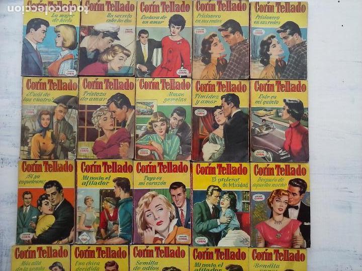Libros de segunda mano: CORIN TELLADO COLECCIÓN CORAL - 20 NºS - 8,11,13,15,16,17,29,31,34,43,45,50,57,103,104,114,171,265 - Foto 24 - 116727043