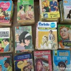 Libros de segunda mano: 61 NOVELAS DE AMOR AÑOS 40/50 Y 60.. Lote 116738435