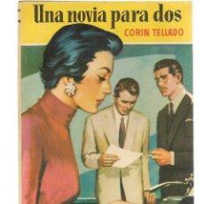 Libros de segunda mano: CAMELIA. Nº 37. UNA NOVIA PARA DOS. CORÍN TELLADO. BRUGUERA 1954.(P(C7). Lote 117895415