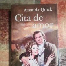 Libros de segunda mano: CITA DE AMOR - AMANDA QUICK. Lote 117932295