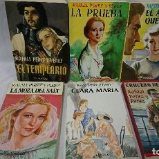 Libros de segunda mano: LOTE DE 6 NOVELAS RAFAEL PÉREZ Y PÉREZ . Lote 118206195