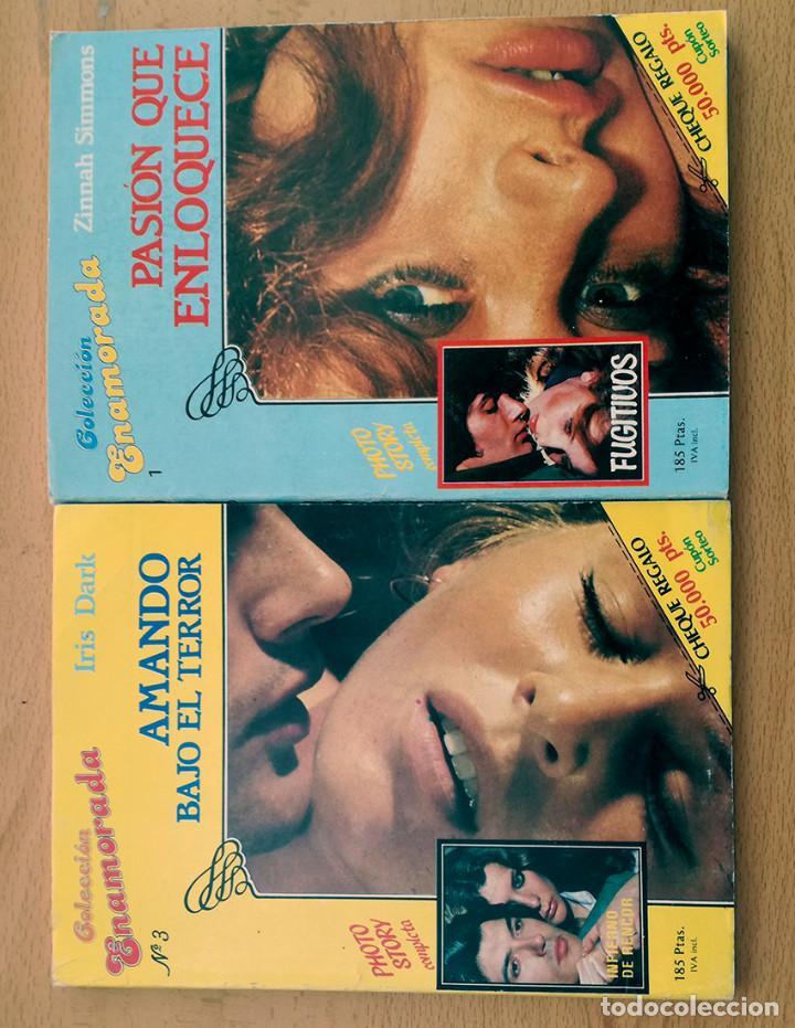 Colección lote 9 libros enamorada-temtadora-apasionada novela romántica Rollan años 80, usado segunda mano