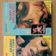 Libros de segunda mano: COLECCIÓN LOTE 9 LIBROS ENAMORADA-TEMTADORA-APASIONADA NOVELA ROMÁNTICA ROLLAN AÑOS 80. Lote 118883415