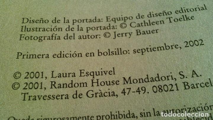 Libros de segunda mano: TAN VELOZ COMO EL DESEO-LAURA ESQUIVEL - Foto 4 - 119325955