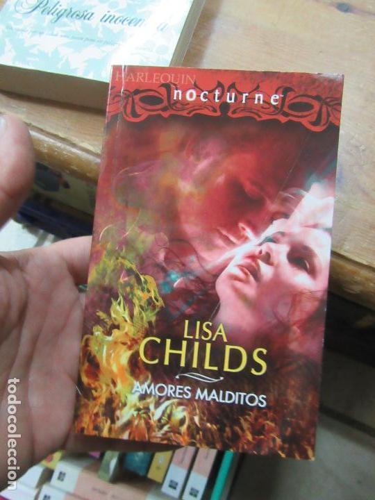 LIBRO AMORES MALDITOS LISA CHILDS 2008 HARLEQUIN L-1405-384 (Libros de Segunda Mano (posteriores a 1936) - Literatura - Narrativa - Novela Romántica)