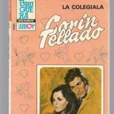 Libros de segunda mano: CORAL. Nº 893. LA COLEGIALA. CORIN TELLADO. BRUGUERA. (C/A43). Lote 122000239