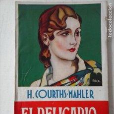 Libros de segunda mano: LA NOVELA ROSA Nº 75 - EL RELICARIO - H.COURTHS MAHLER - PESO SIN EMBALAR 100 GRS. Lote 122229547