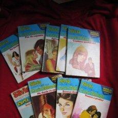 Libros de segunda mano: LOTE 9 NOVELAS ROMANTICAS COLECCION CORINTO CORIN TELLADO. BOLSILIBROS BRUGUERA SERIE SELECCION. Lote 122292219